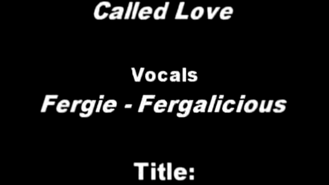 Fergie vs. Queen - Crazy Little Thing Called Fergalicious