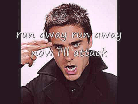 The Attack - 30 seconds to mars (lyrics!)