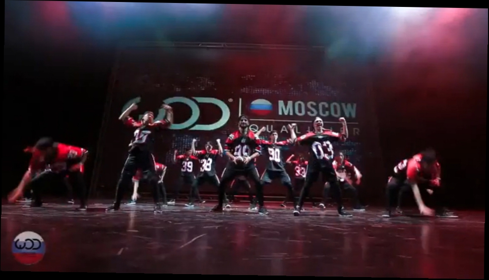 Lil Fam/ 1st Place Upper Division/ FRONTROW/ World of Dance Moscow 2015