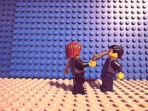 Lego T-1000 vs The Winter Soldier