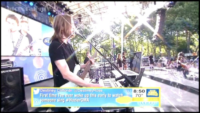 Hozier - Take Me to Church - Summer Concert GMA