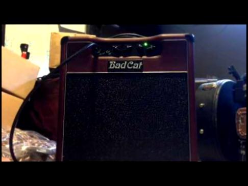 Б/у bad cat cougar 5 гитарный усилитель