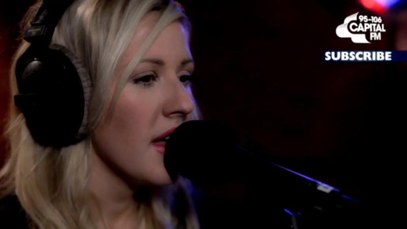Элли Голдинг / Ellie Goulding - Explosions (Capital Live Session 16.04.2015) HD