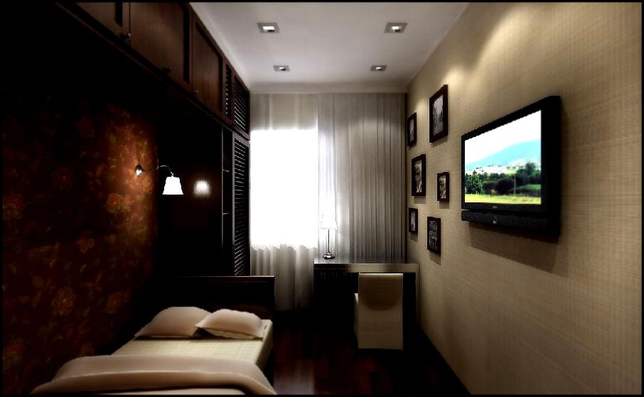 Узкая комната фото