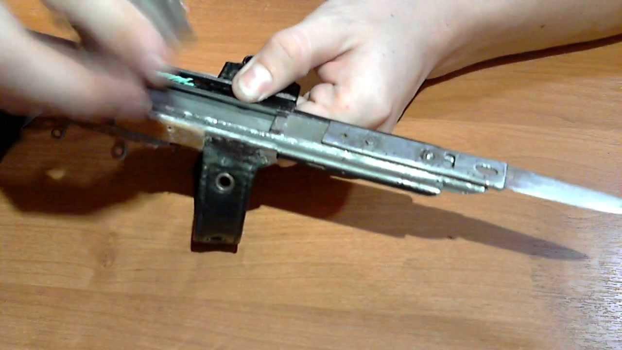 Как сделать скрытый клинок с фиксатором