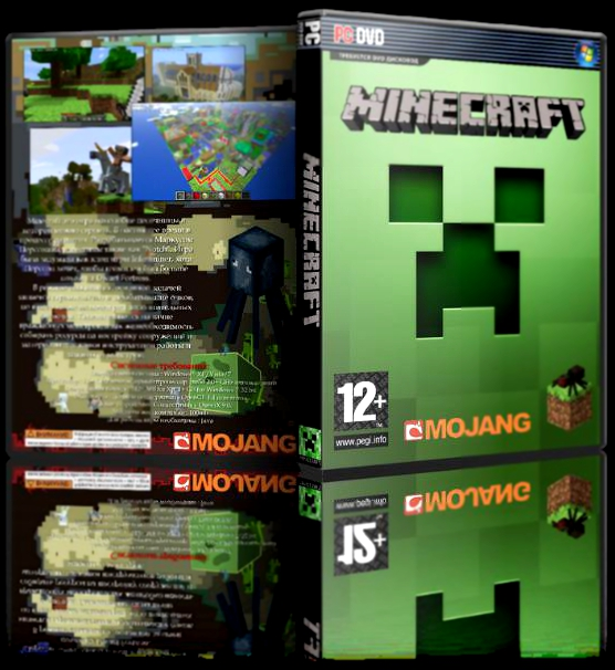 Minecraft [v 1.5.2] скачать через торрент для пк