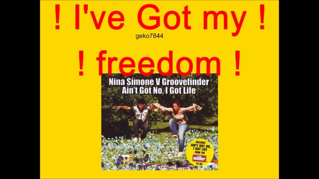Nina Simone - Ain't Got No, I've Got Life [Groovefinder Remix]