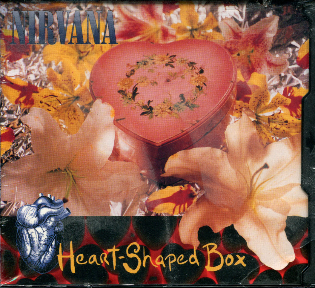 Nirvana - Heart shape box