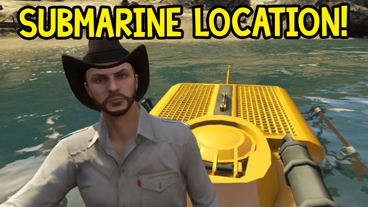 gta 5 найти подводную лодку