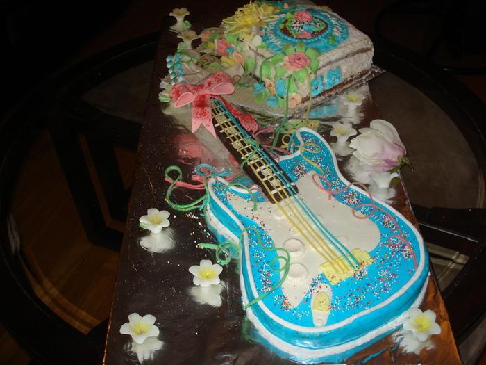 торты на заказ фото гитара