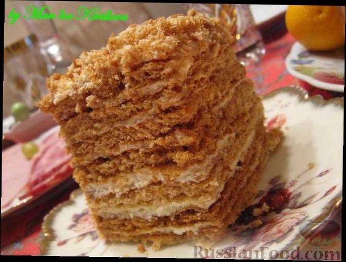 рецепты выпечки тортов фото