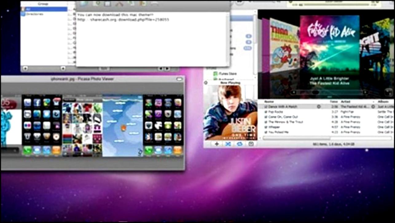 Тема для Windows 7 - Avatar 2010 PC